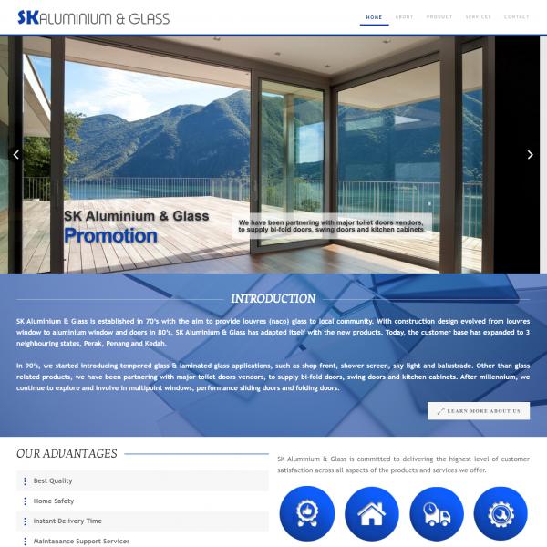 SK Aluminium Glass